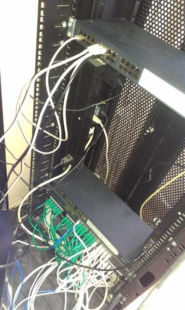 Donacija mrežne opreme - ugrađeno - Vindije 2012
